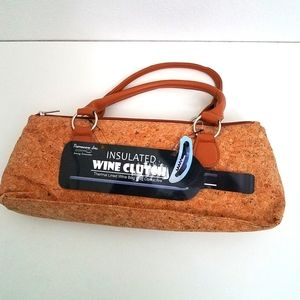 Primeware Wine Clutch Bag Corkscrew Style